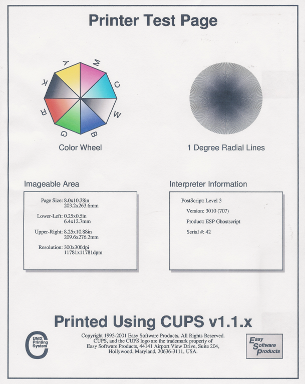 Nice Print Color Test Page Hp Printer Images - Example Resume ...